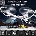 Tarântula X6 Grande Quadcopter Dron Drones Com Câmera HD de 5MP/2MP Grande Angular 2.4 Ghz 4CH 6-Axis RC Helicóptero