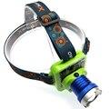 Portable waterproof solar head flashlight sun power headlamp USB headlights outdoor rechargeable torch light