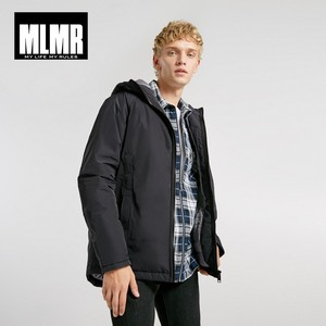 Image 2 - Jackjones Mannen Hooded Parka Jas Lange Gewatteerde Jas Jas Mode Menswear Basic 218309529
