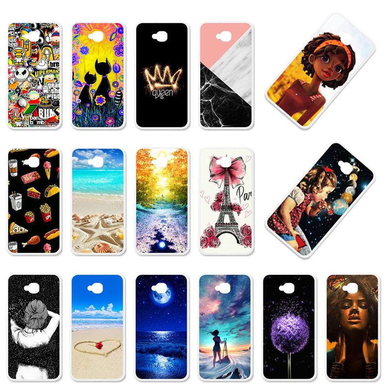 Case For ASUS Zenfone 4 Selfie Lite Case Asus ZenFone 4 Selfie ZB553KL Covers Silicon X00LDA Coque Girls Anime 5.5 Inch
