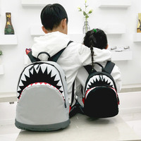 Boys 3D Shark School Backpack Baby Nursery Mochila Kids Fun Notebook Bag for Kindergarten Primary School Boys and Girls Backpack