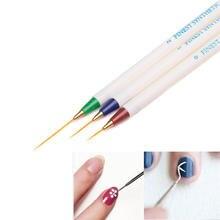 BearPaw 3 шт./компл. щетки для ногтей Nail Art Дизайн Набор нанесение пунктира кисть Инструменты Nail Art инструменты Красота поставки подарок