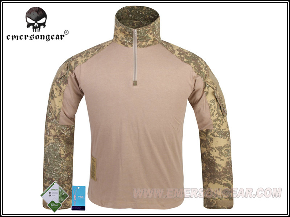 EMERSON G3 Long Sleeve T-shirt Airsoft Tactical Combat Shirt Military Hunting Paintball Outdoor Sports Shirt Badland EM9245 emersongear g3 combat t shirt military bdu army airsoft tactical gear paintball hunting shirt em8586 typhon emerson