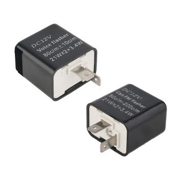 Best new stylish universal electronic flasher relay module 12v 2pin led turn signal light motorcycle error.jpg 350x350
