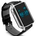 Localizador rastreador smartwatch gps beidou smart watch heart rate monitor relógio de pulso apoio cartão sim para ios android pk gt08 dz09