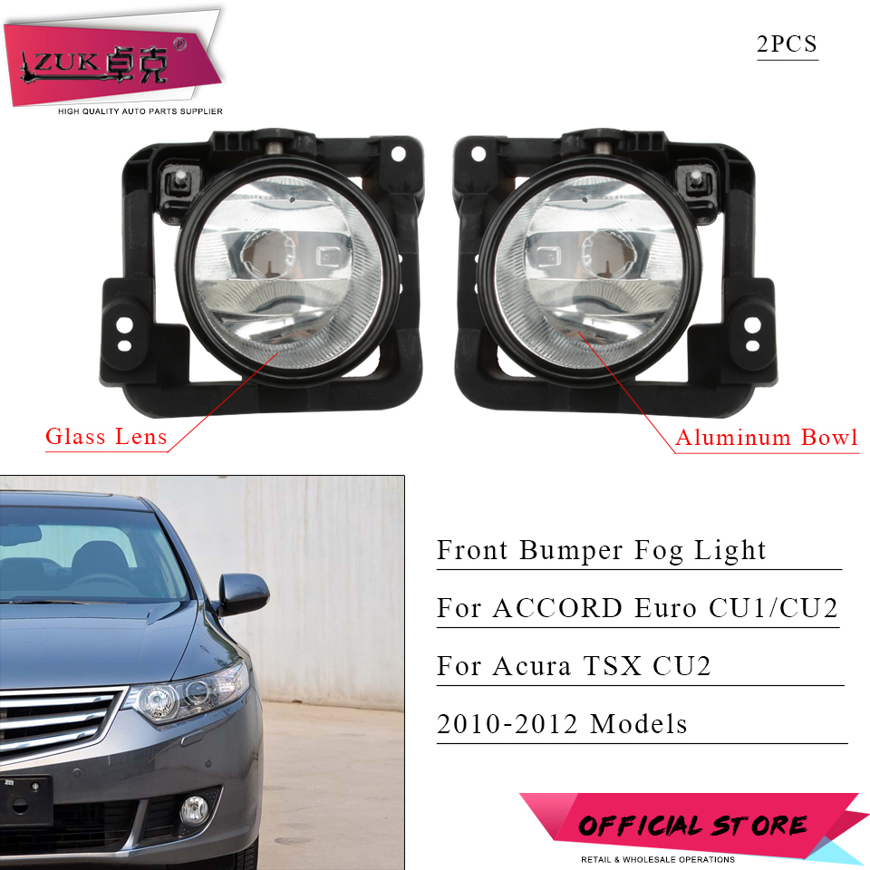 New AC1039109 AC1038109 Fog Light Trim Set for Acura TSX 2011-2014