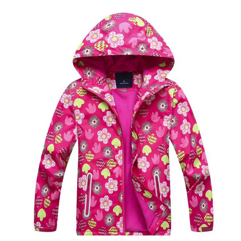 Spring Windbreaker for Girls Jacket Pink Fleece Trench Coat Fashion Children Outwear Cardigan Jacket Cloak Raincoats Clothing набор bosch фонарь gli deciled 0 601 4a0 000 набор бит 2 607 017 319