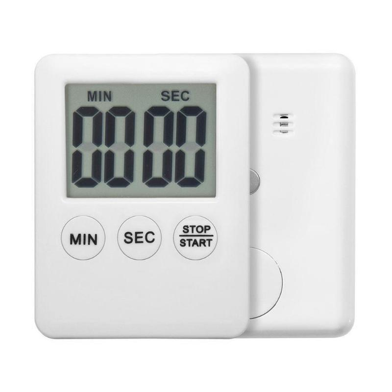 LCD Digital Timer Practical Kitchen Cooking Count-Down Up Clock Loud Alarm Reminder Table Clock Temporizador Kitchen Timer