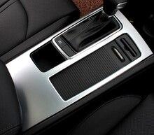Для левый руль автомобиля! Для Kia Optima K5 2016 2017 интерьер автомобиля стиль Шестерни коробка Панель крышка отделка 1 шт.
