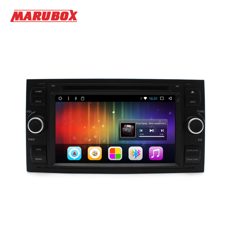 MARUBOX 2Din Android 7 1 For Ford Focus 2008 2011 Ford Fiesta Mondeo Transit C Max