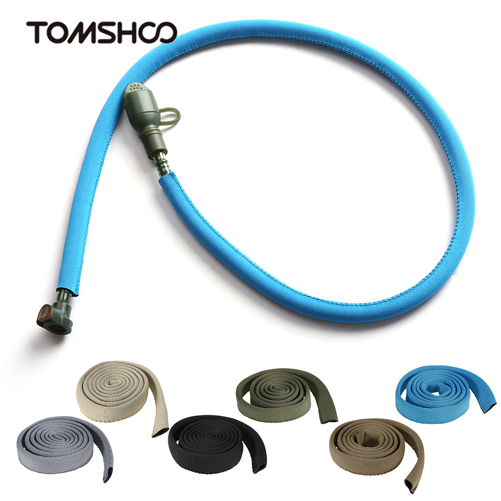 New 120cm Water Bladder Hydration Pack Drink Tube Hose Insulated Cover Sleeve