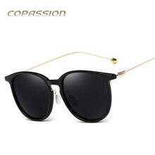 2017 projeto Quente marca polarizada óculos de sol das mulheres Do Vintage óculos Redondos óculos de sol dos homens uv400 Óculos de sol oculos de sol feminino