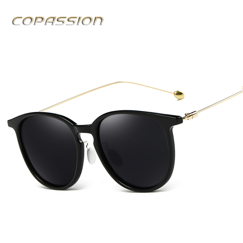 2017 Hot branded polarized sunglasses women Vintage design Round glasses mens sun glasses uv400 Eyewear oculos de sol feminino ...