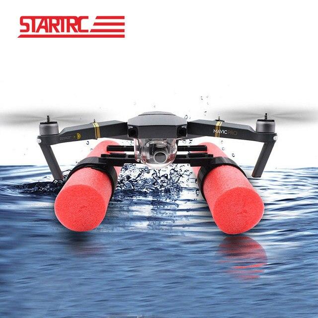 STARTRC DJI Mavic Pro Landing Skid Float kit For DJI Mavic pro platinum Drone Landing on Water Parts  Free shipping