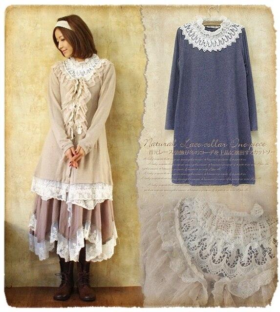 2792233d02635 Tunique femme femmes automne-hiver manches longues dress crochet bohème  ropa mujer vetement femme hippie