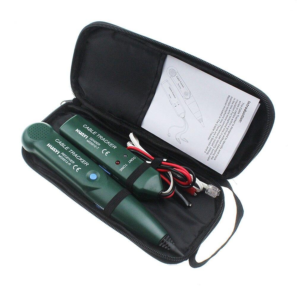 Red Ethernet cable tester para RJ11 RJ45 CAT5 Cat6 teléfono Alambres Tracker Tracer toner Ethernet LAN red