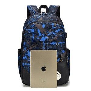 Image 4 - Bolso de hombro de estilo informal para hombre, mochila Oxford con asa suave y cremallera, para estudiantes, tendencia de ocio, ZF9832