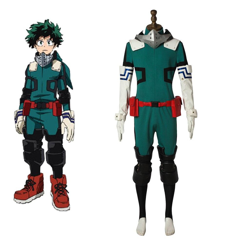 Cosplaydiy Anime My Hero Academia 3 Cosplay Costume Boku no Hero Akademia Izuku Midoriya Cosplay
