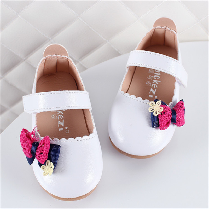 Xinfstreet Cute Bow Baby Girls Shoes Pu Leather Toddler Children Shoes Princess Infant Kids Shoes Size 15-25Xinfstreet Cute Bow Baby Girls Shoes Pu Leather Toddler Children Shoes Princess Infant Kids Shoes Size 15-25