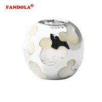 Icono de Madre de la Perla Granos Del Encanto adapta Pulseras Pandora Auténtica Plata de Ley 925 Encantos de La Joyería DIY Al Por Mayor FL466