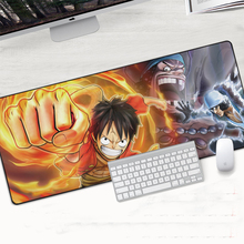 Grande One piece Mouse Pad Gaming Large xxl Cartoon Anime Rubber Mousepad Keyboard Desk Pad Mats Computer PC Non-Skid Padmouse maiyaca sound system prints mouse pad small size round gaming non skid rubber pad