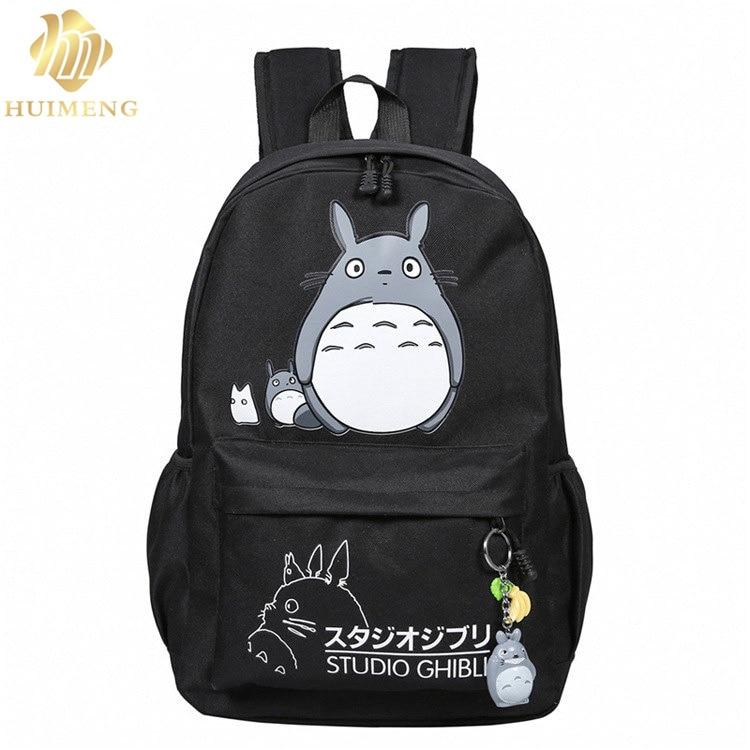 2017 nueva moda Mujeres Totoro Mochila impresión 3D viajes softback mujeres mochila espacio escolar mochila portátil Mochilas Mujer