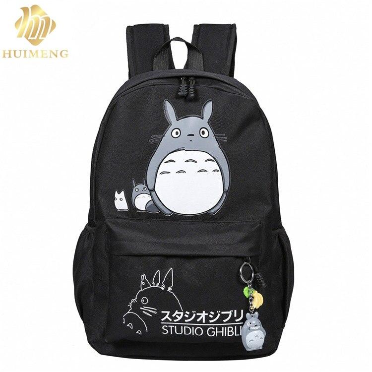 2017 new fashion Women Totoro Backpack 3D printing travel softback women mochila School space backpack notebook Backpacks Female
