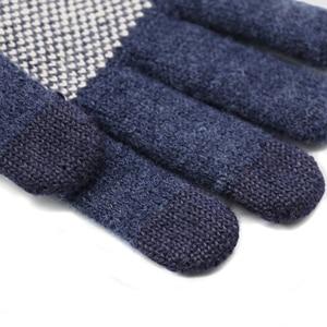 Image 5 - Original Xiaomi männer Wolle Touch Handschuhe Weiblichen Herbst und Winter Warme Handschuhe Touch Screen Telefon Tablet Offizielle Flagship Store