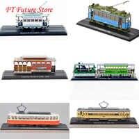 Günstige Kinder Spielzeug 1: 87 skala Atlas Fahrzeug Straßenbahn Serie Zug Bus GroBer Hecht Modell Spielzeug Modell Sammlung Modell für Geschenke