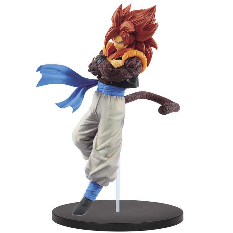 New BANPRESTO Dragon Ball Z DBZ FES Lutando SSJ4 Gogeta Goku Vegeta Action Figure Brinquedos Bonecas Figurals Vol.07