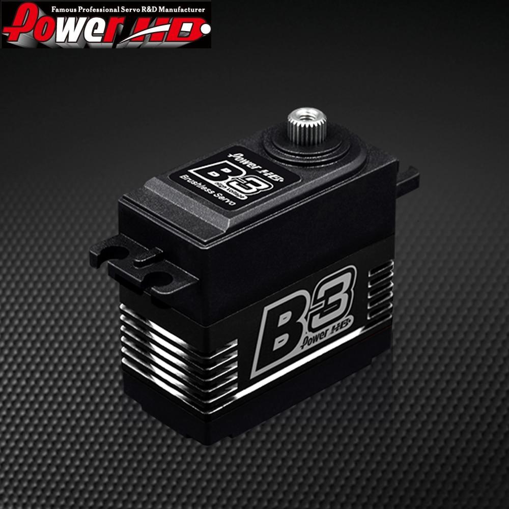 1pcs Original Power HD B3 30kg 7.4V Brushless Digital Servo with Metal Gears and Double Bearings цена
