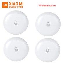 Оптовая продажа Xiaomi Mijia Aqara IP67 воды погружения Сенсор потока воды детектор утечки для дома удаленный сигнал тревоги безопасности замачивания Сенсор