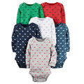 4/5/6pcs Spring Autumn Long Sleeve Baby Clothes Set Kids Boy Girl Clothing Newborn Baby Bodysuits Children vestido infantil