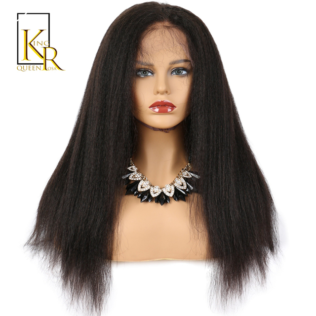 Glueless full lace human hair wigs for black women remy brazilian glueless full lace human hair wigs for black women remy brazilian kinky straight wig pre plucked pmusecretfo Images