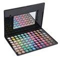 Profesional 88 Cálidos Colores Sombra de ojos Cosméticos Conjunto Kit de Belleza con Espejo de sombra de ojos paleta de Maquillaje Mate Nueva calidad superior