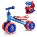 Regalo de cumpleaños del bebé coche equilibrado niño niños juguete scooter de conducción paseo