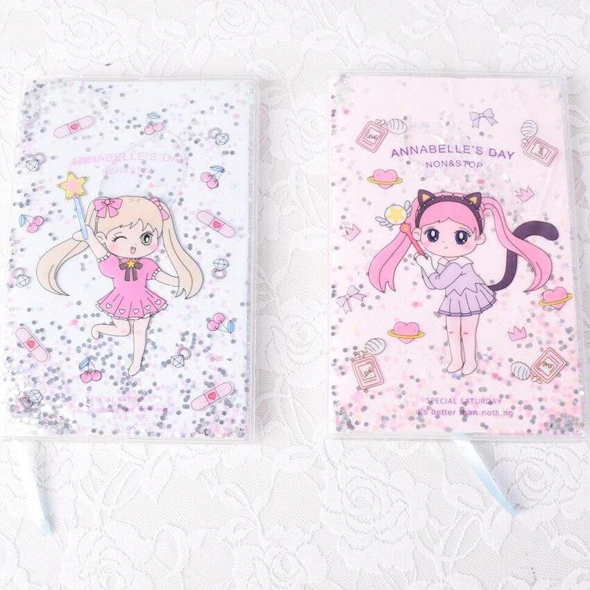 100% Wahr 1 Stücke Neue Tagebuch Buch Pvc Shell Notebook Magie Mädchen Tagebuch Plan Notebook In Die öl Notebook Tagebuch