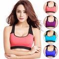 Women Breathable Vest Shockproof Bra For Ladies Padded Wirefree Shakeproof Comfortable Sleep Underwear