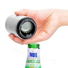 E74 Bar Automatic Beer Bottle Opener Stainless Steel Soda Cap Wine Instrument New