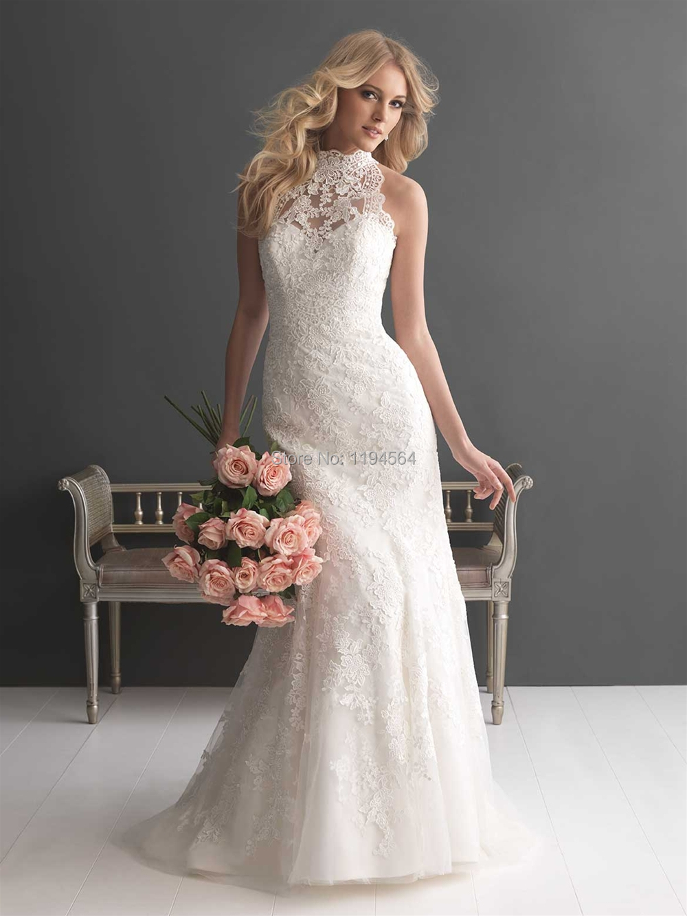 Cheap Wedding Dresses Made In China One Shoulder Bridal Gown 2015 Top Lace Vestido De Noiva Princesa Zipper Back WH540