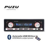 Red Color 1din 12V Bluetooth Car Radio MP3 FM Receiver USB SD With Remote Controller USB