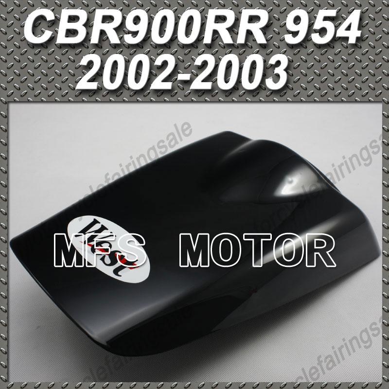 New For Honda CBR900RR 954 CBR 900 RR 954 2002 2003 02 03 West Motorcycle Rear Pillion Black Seat Cowl Cover