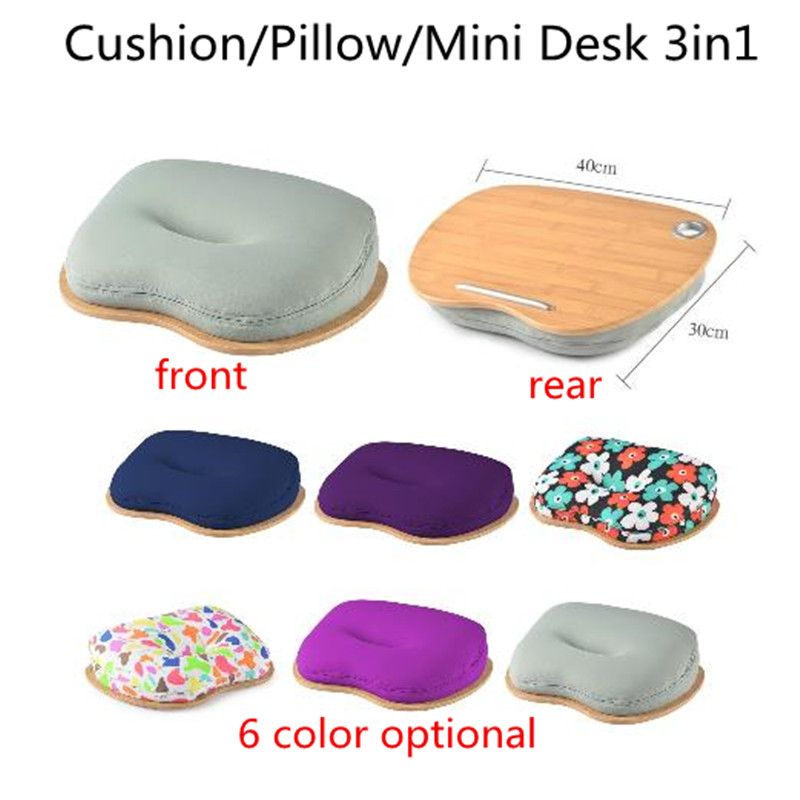 Laptop Table/Tray Mini Desk for Pad/Phone/Book Protable Office Lunch Break Pillow Laptop Picnic/Camping Table Car Seat CushionLaptop Table/Tray Mini Desk for Pad/Phone/Book Protable Office Lunch Break Pillow Laptop Picnic/Camping Table Car Seat Cushion