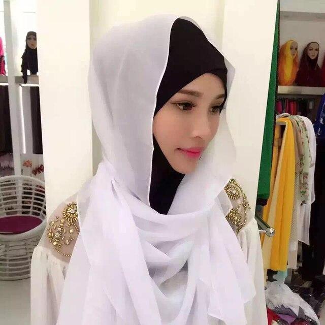 Muslim Headscarves Solid...
