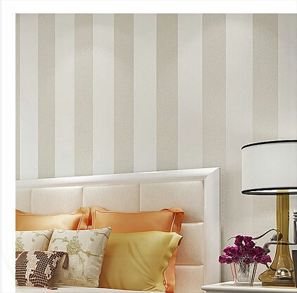 ... Striped Wallpaper Roll Modern Vertical Stripe Wall Paper Living Room  Bedroom TV Background Wall Home Decor ... Part 88