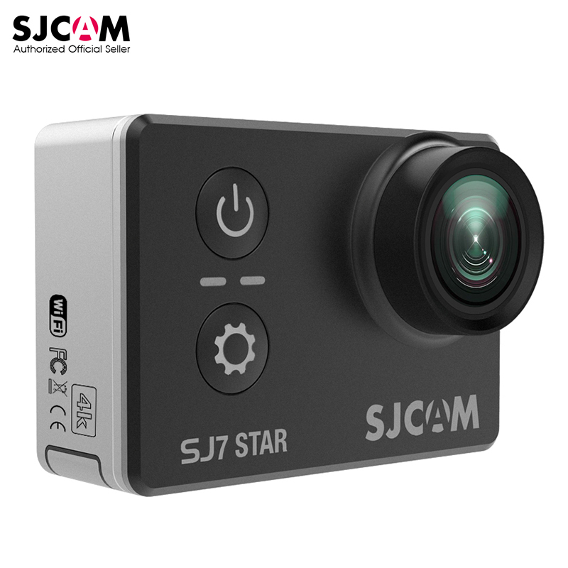 100% Original SJCAM SJ7 STAR Wifi 4k 2'' Touch Screen Ambarella A12S75 30M Waterproof Remote Sports Action Camera Car Mini DVR