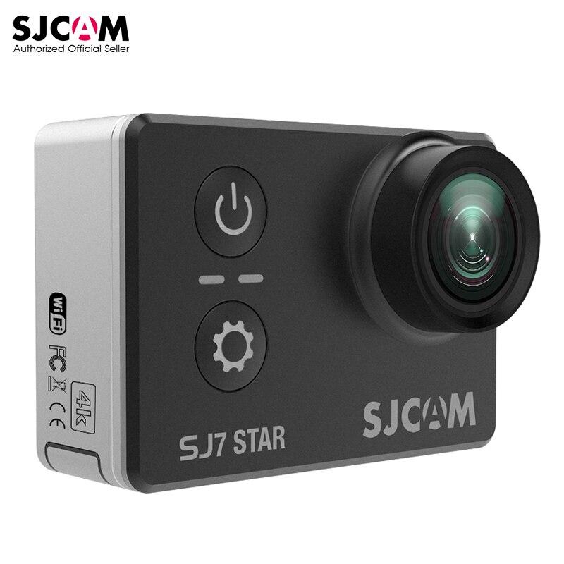 100% Original SJCAM SJ7 STAR Wifi 4k 2'' Touch Screen Ambarella A12S75 30M Waterproof Remote Sports Action Camera Car Mini DVR