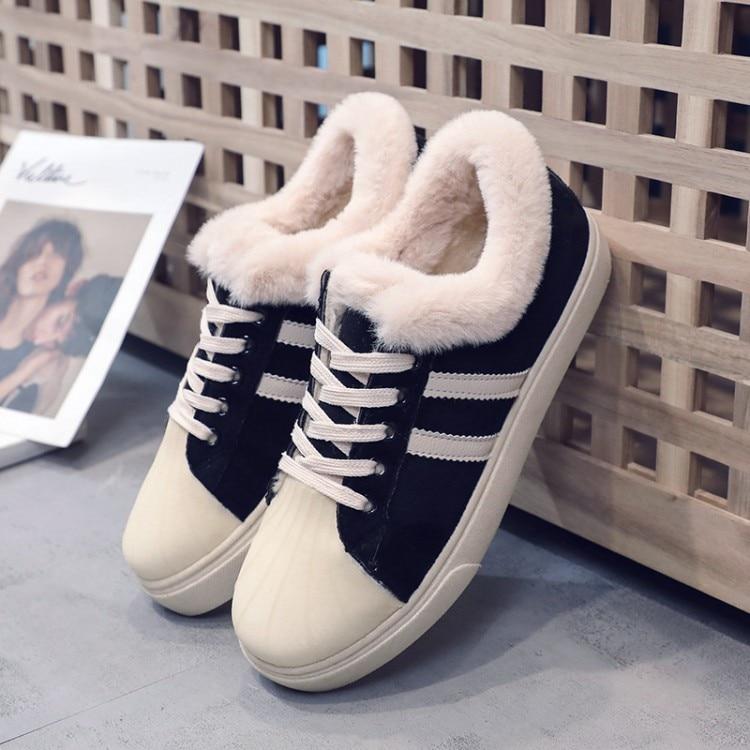 Beige A Marque 588 Hiver Sneakers Femelle Fourrure Plate 2018 a Femmes Noir Femme Black Appartements De 588 Rayé Mocassins Chaussures forme qdwdxZTAa