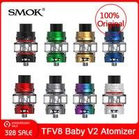 Original SMOK TFV8 Baby V2 Atomizer Tank 5ml + Baby V2 A1/A2 coils for Electronic cigarette vape tank VS tfv12 prince