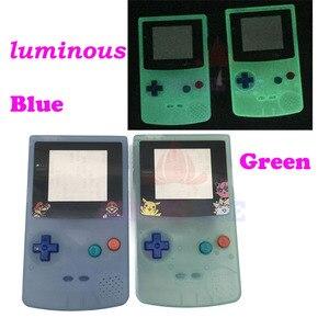 Image 1 - Пластиковый светящийся чехол с полным покрытием для ограниченной серии флуоресцентный чехол для GBC Gameboy цветной светящийся чехол